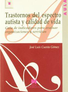 Portada libro Trastornos del espectro autista y calidad de vida